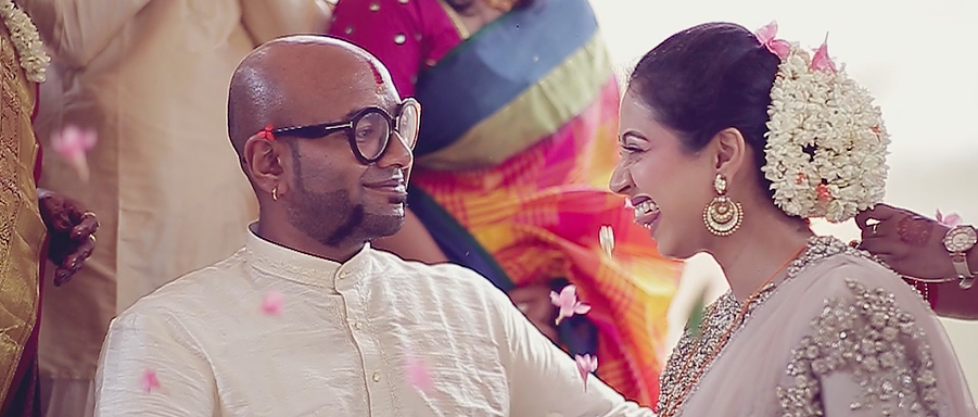 The Wedding of Bollywood Singer Benny Dayal with fiancé Model-Actress Catherine Thangam in Bangalore